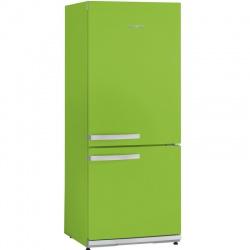 Combina frigorifica Severin Color editions KS 9897, Clasa A++, 179 KWh/an, 227L, verde