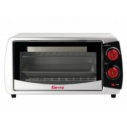Cuptor electric Girmi FN0900, 800W, 9L, 230 grade, grill, timer, argintiu