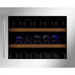Vitrina de vinuri incorporabila Nevada Concept NW28S-S, 28 sticle, inox