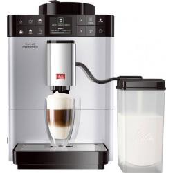 Espressor automat Melitta Caffeo Passione One Touch , Sistem Cappuccino, Autocuratare, 15 Bar, 1.2 l, Argintiu