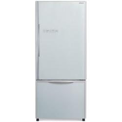 Combina frigorifica Hitachi R-B500PRU6(GS), 415L, Clasa A+, No frost, Argintiu Glass