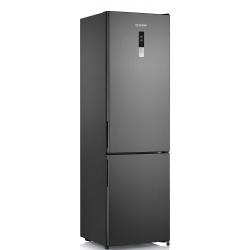Combina frigorifica Severin KGK 8946, Clasa A++, 227 KWh/an, 351 L, Total No Frost, inverter, inox negru