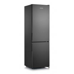Combina frigorifica Severin KGK 8906, Clasa A++, 196 KWh/an, 231L, Total No Frost, Dark Inox