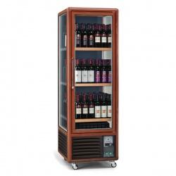 Vitrina de vinuri Tecfrigo ENOTEC 340 1TV/P,capacitate 350 l, temperatura +5/+18°C, maro