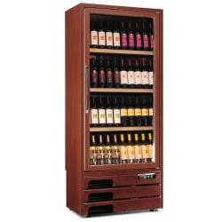 Vitrina de vinuri Tecfrigo Enoprestige 300 1TV, capacitate 300 l, temperatura +5/+16°C, lemn nuc