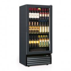 Vitrina de vinuri Tecfrigo CAVE 370 1TV, 370 l, 84 Sticle, temperatura +5/+18°C, negru