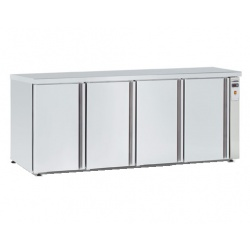 Masa rece catering Tecfrigo BBX 4V TOP, capacitate 740 l, temperatura +4/+8, inox