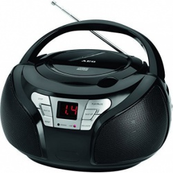 Radio stereo cu CD player AEG SR 4365 CD black