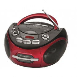 Radio stereo cu cd, AEG SR 4353 , Red
