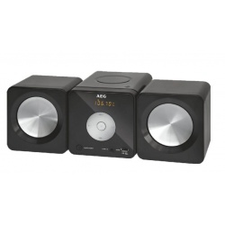 Radio stereo cu cd, AEG MC 4463 CD, Black