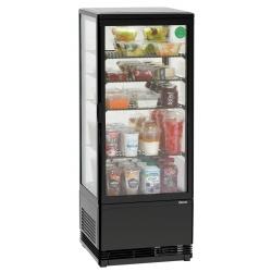 Mini vitrina frigorifica Bartscher 98 l neagra