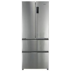 Combina frigorifica Haier HB14FMAA, Clasa A+, 382 litri, latime 70 cm, Inox