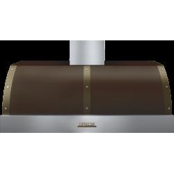 Hota perete Superiore HD48PBTMB DECO 48 ,1 motor, 900 m3/h, cotrol electronic maro mat cu finisaje crom