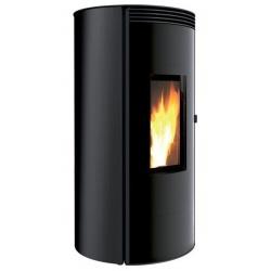 Sobă Caminetti Montegrappa CUMA EVO LS6, cu peleți cu aer cald ventilat cu sistem ass 6 kw