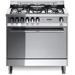Aragaz Lofra Maxima MG85G/C, 80x50 cm, gaz, 5 arzatoare, grill electric, timer, cuptor gaz, aprindere electronica, inox