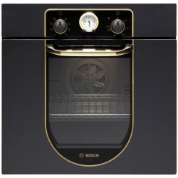 Cuptor incorporabil rustic Bosch HBA23BN61, Electric, Multifunctional, 7 Functii, Clasa A, Negru