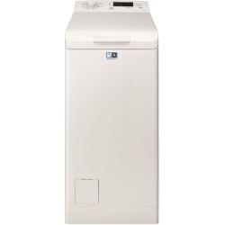 Masina de spalat rufe cu incarcare verticala Electrolux EWT1064ILW, 6 kg, 1000 Clasa A+++, LCD, Alb