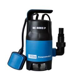 Pompa submersibila Gude GS 4002 P, 400W, 7500 l/h, 5 m, albastru si negru