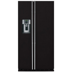 """Side by side IOMABE Exclusive """"V"""" Series ORE24VGF8B, clasa A+, 528 l, No Frost, Negru"""