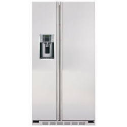 """Side by side IOMABE Exclusive """"V"""" Series ORE24VGF80, clasa A+, 528 l, No Frost, Inox"""