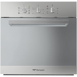 Cuptor incorporabil Bompani Push&Pull BO243CA/E, electric, multifunctional, 60cm, 54l, Inox