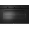 Cuptor gaz incorporabil Smalvic GLASS NERO FI-95GEVTC, 90cm, 110l, grill electric, negru