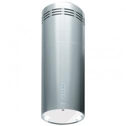 Hota design Baraldi Rodia 01ROD305ST80, 30 cm, 800 m3/h, inox/sticla alba